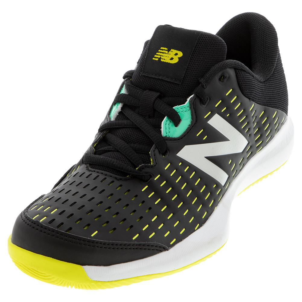 New Balance Junior 696 black/yellow
