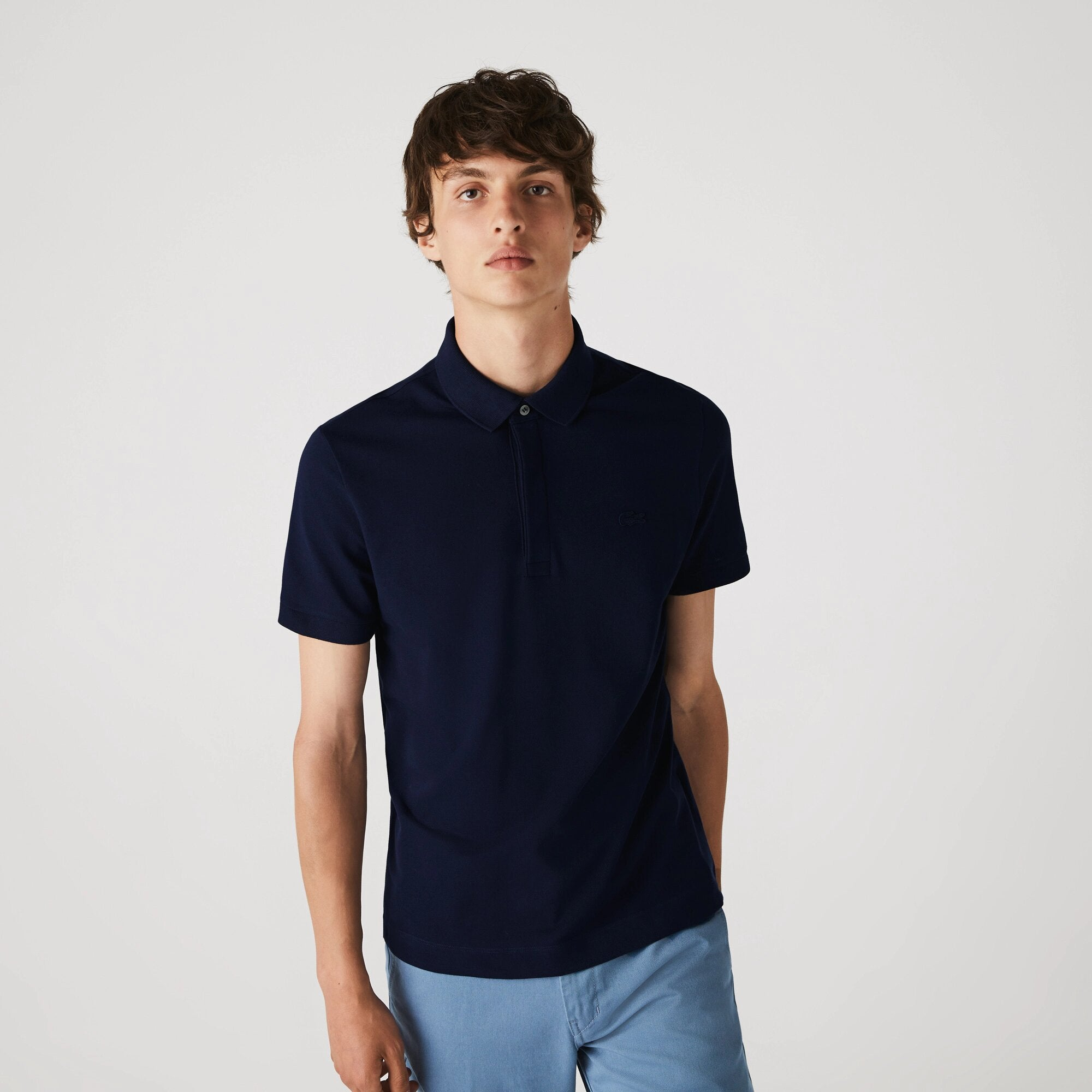 Lacoste Regular Fit Stretch Cotton Paris Polo