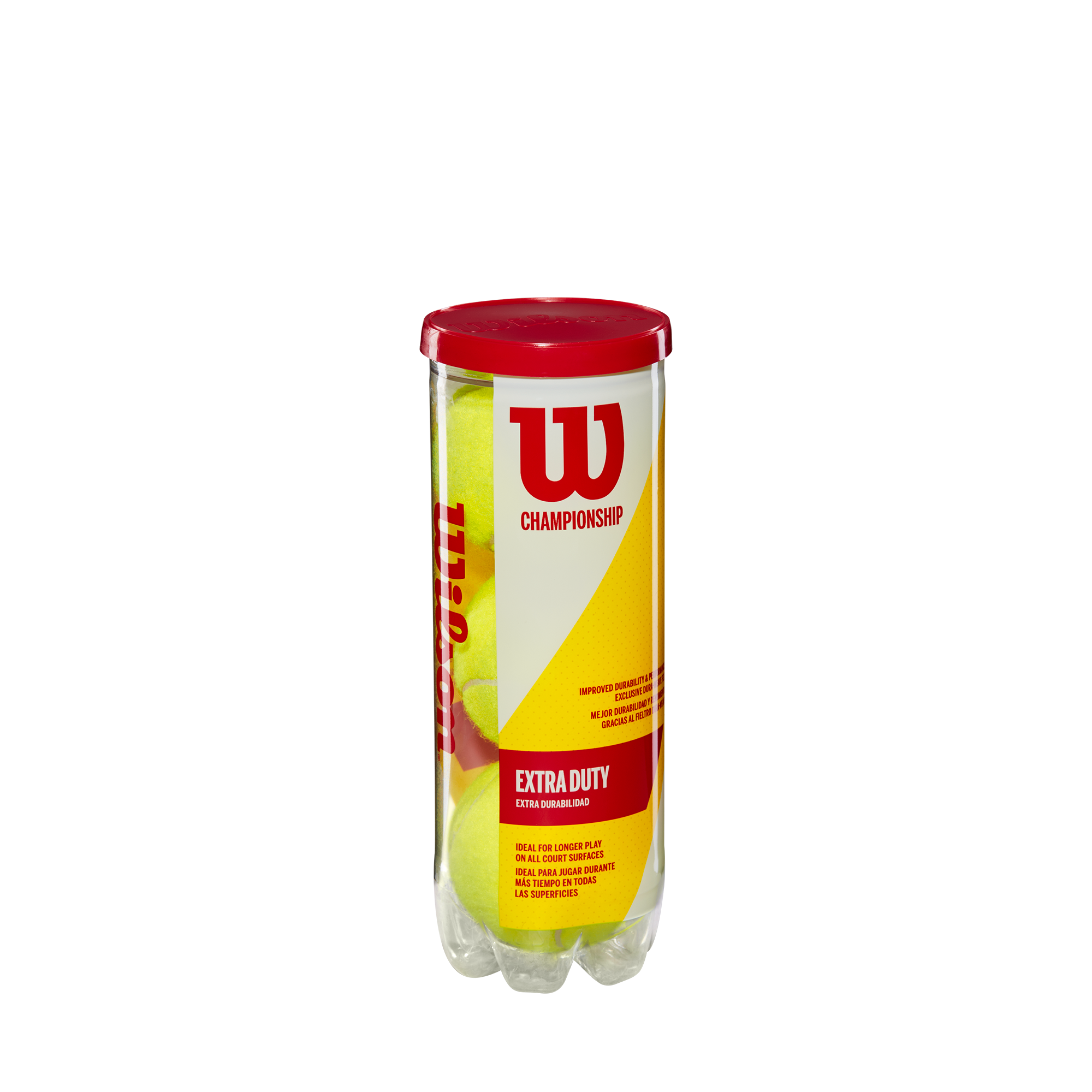 WILSON CHAMPIONSHIP XTRA-DUTY TENNIS CASE | 24 cans | 72 balls
