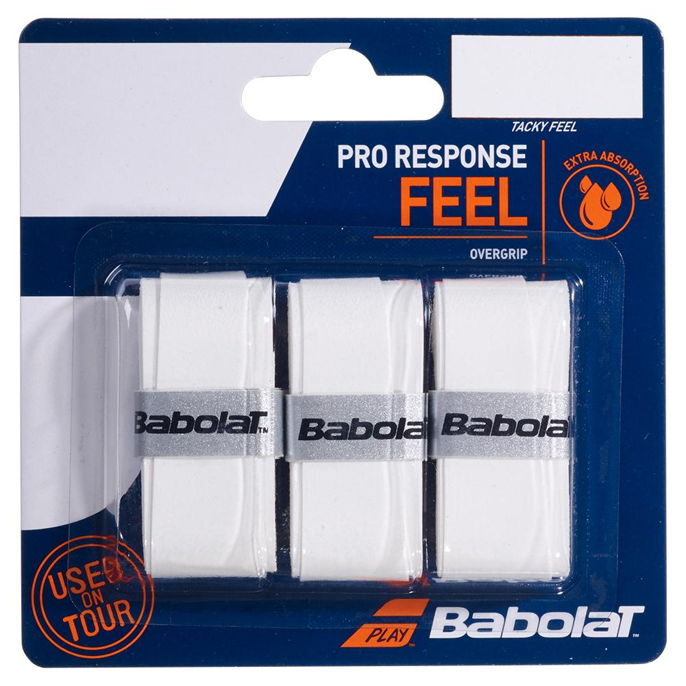 Babolat Pro Response Feel overgrip - white