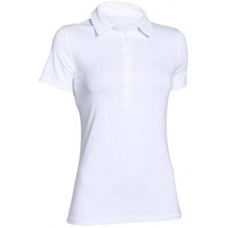 Under Armour Heat Gear Polo White