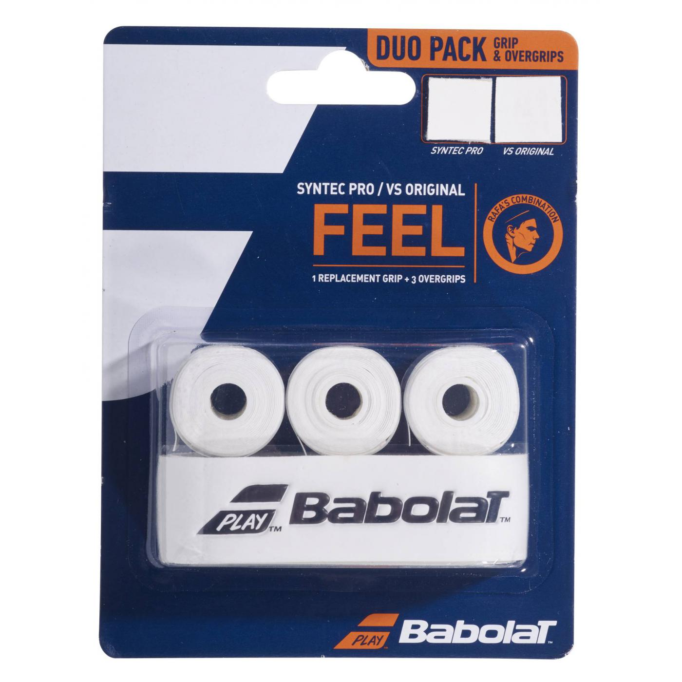 Babolat FEEL Syntec Pro / VS Original - Duo pack