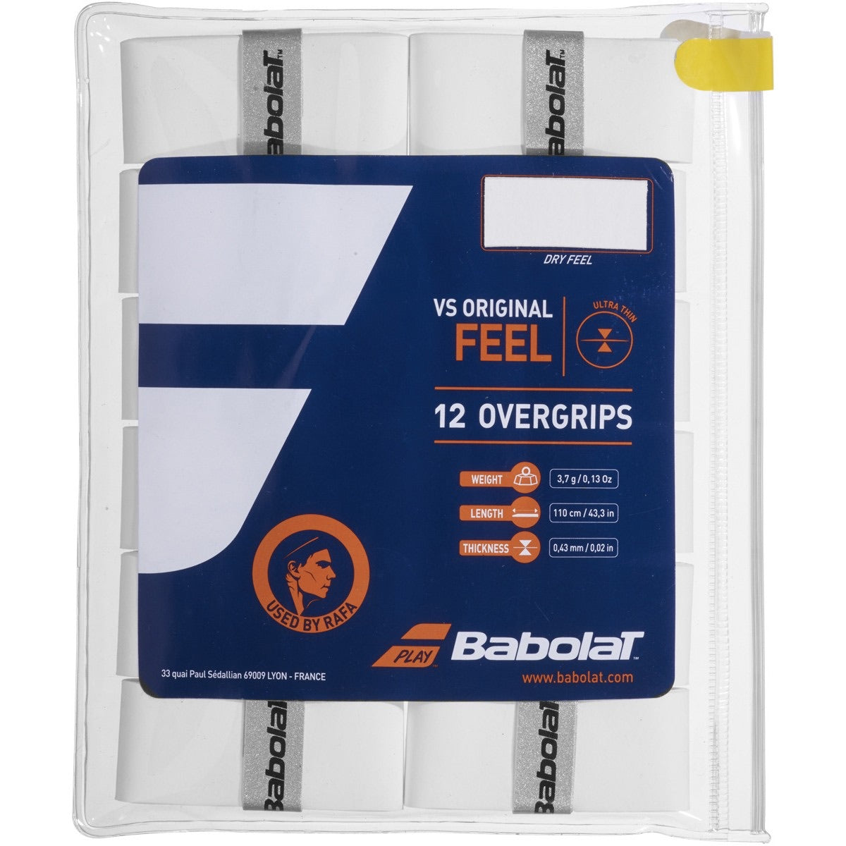 Babolat VS ORIGINAL FEEL 12 overgrips