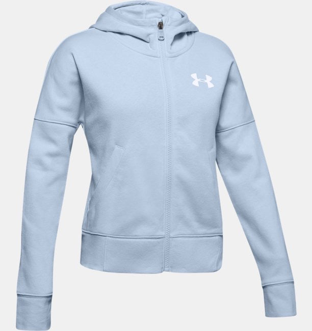 Under Armour Junior's girl Rival Full Zip