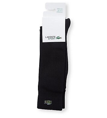 Lacoste Tennis Socks Black (8.5-12 US)