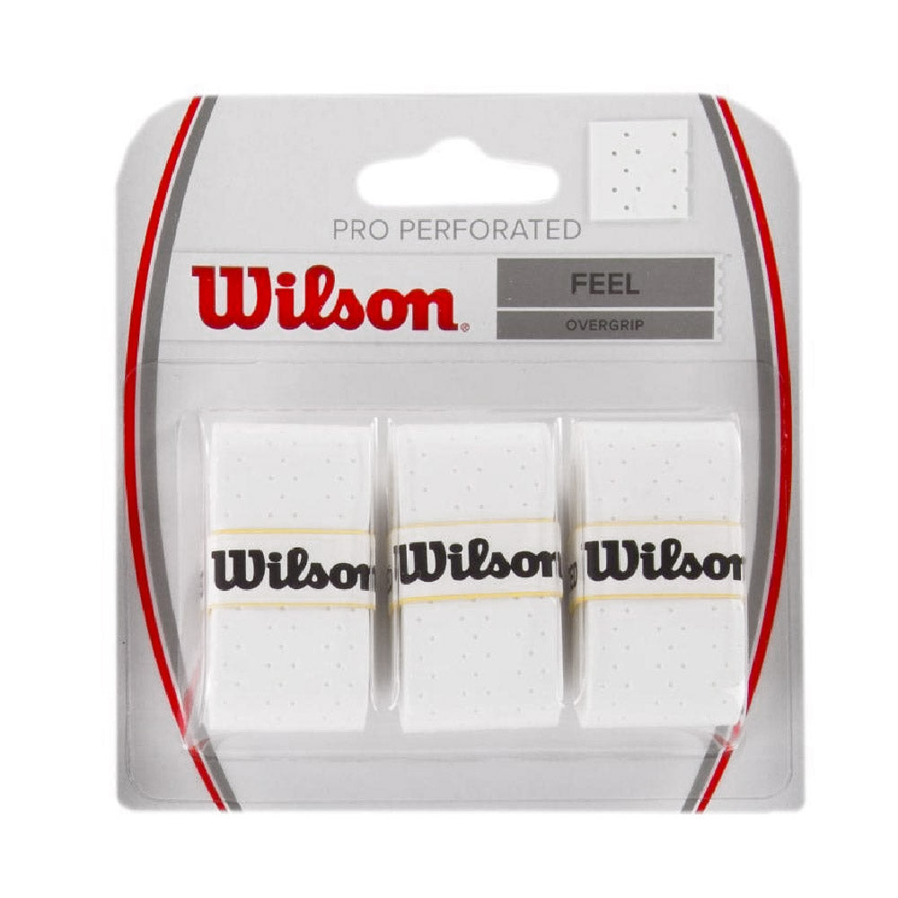 Wilson Pro Perforated White