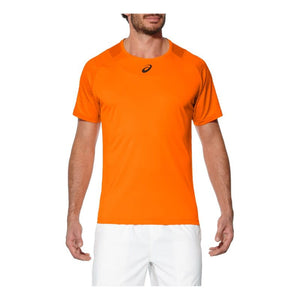 Asics Orange Tennis T Dry Fit