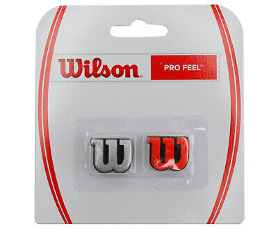 Wilson Pro Feel Dampener - silver and red