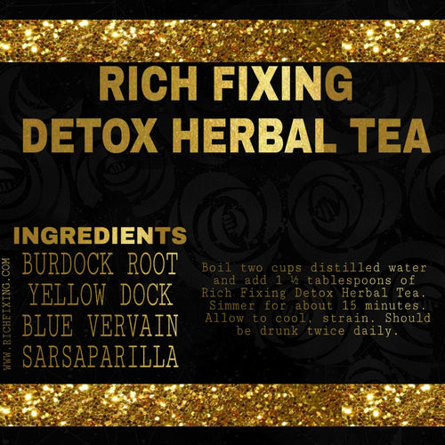 RICH FIXING DEEP DETOX HERBAL TEA