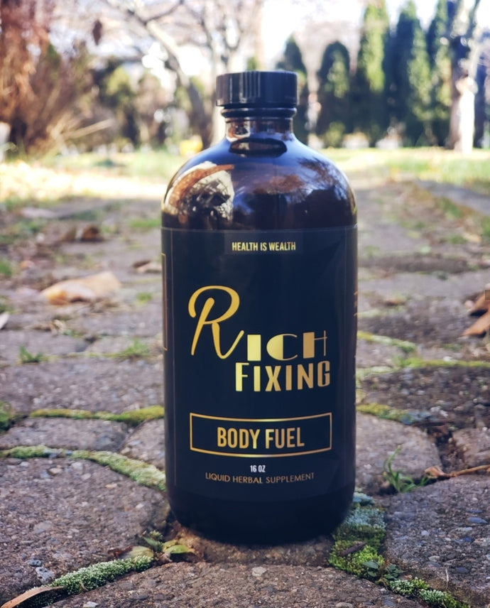 Rich Fixing Body Fuel (100% alkaline plant-based cell food)