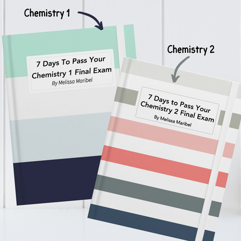 Final Exam Study Guide for Chemistry 1 and 2