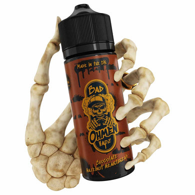 Chocolate Hazelnut Heartbreak | Bad Ohmen | VAPE GOOD E LIQUID UK