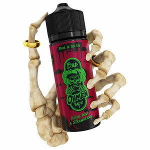 Killer Kiwi & Strawberry | Bad Ohmen | VAPE GOOD E LIQUID UK