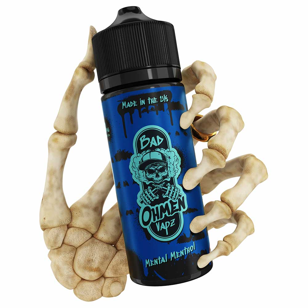 Mental Menthol | Bad Ohmen | VAPE GOOD E LIQUID UK