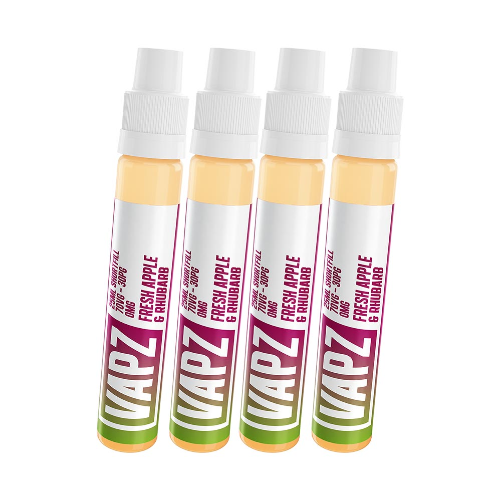 Fresh Apple & Rhubarb | Vapz | VAPE GOOD E LIQUID UK