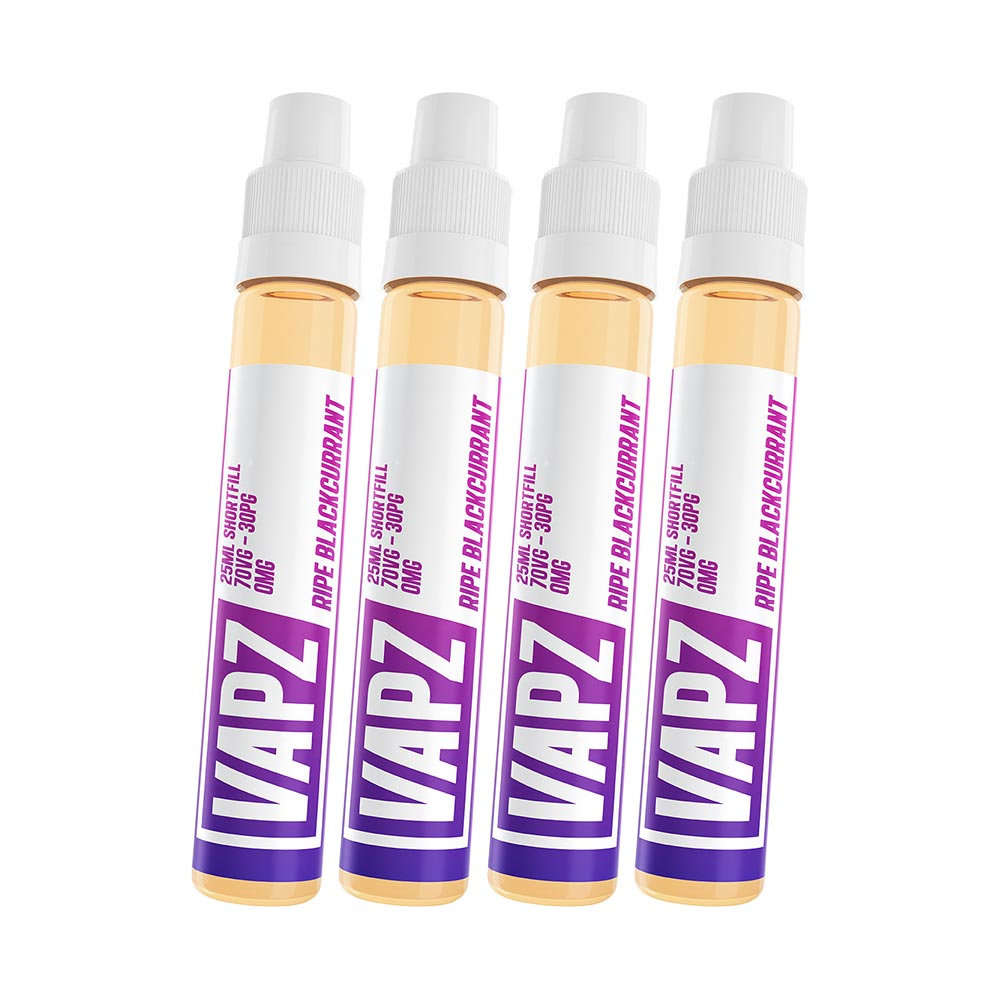 Ripe Blackcurrant | Vapz | VAPE GOOD E LIQUID UK