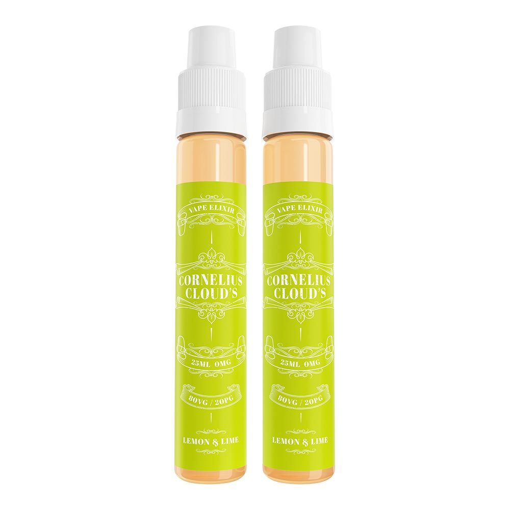Lemon & Lime | Cornelius Clouds | VAPE GOOD E LIQUID UK