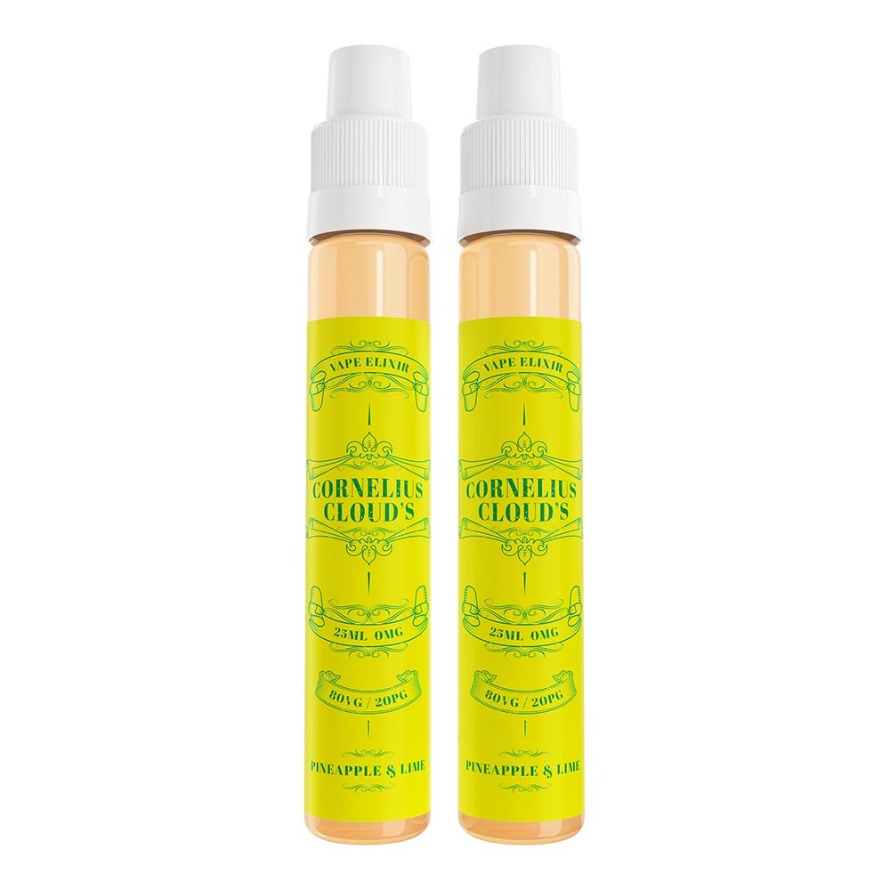 Pineapple & Lime | Cornelius Clouds | VAPE GOOD E LIQUID UK
