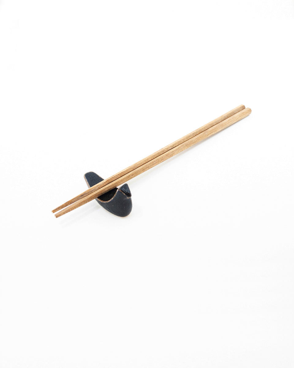 Chopstick Rest - Black Bird
