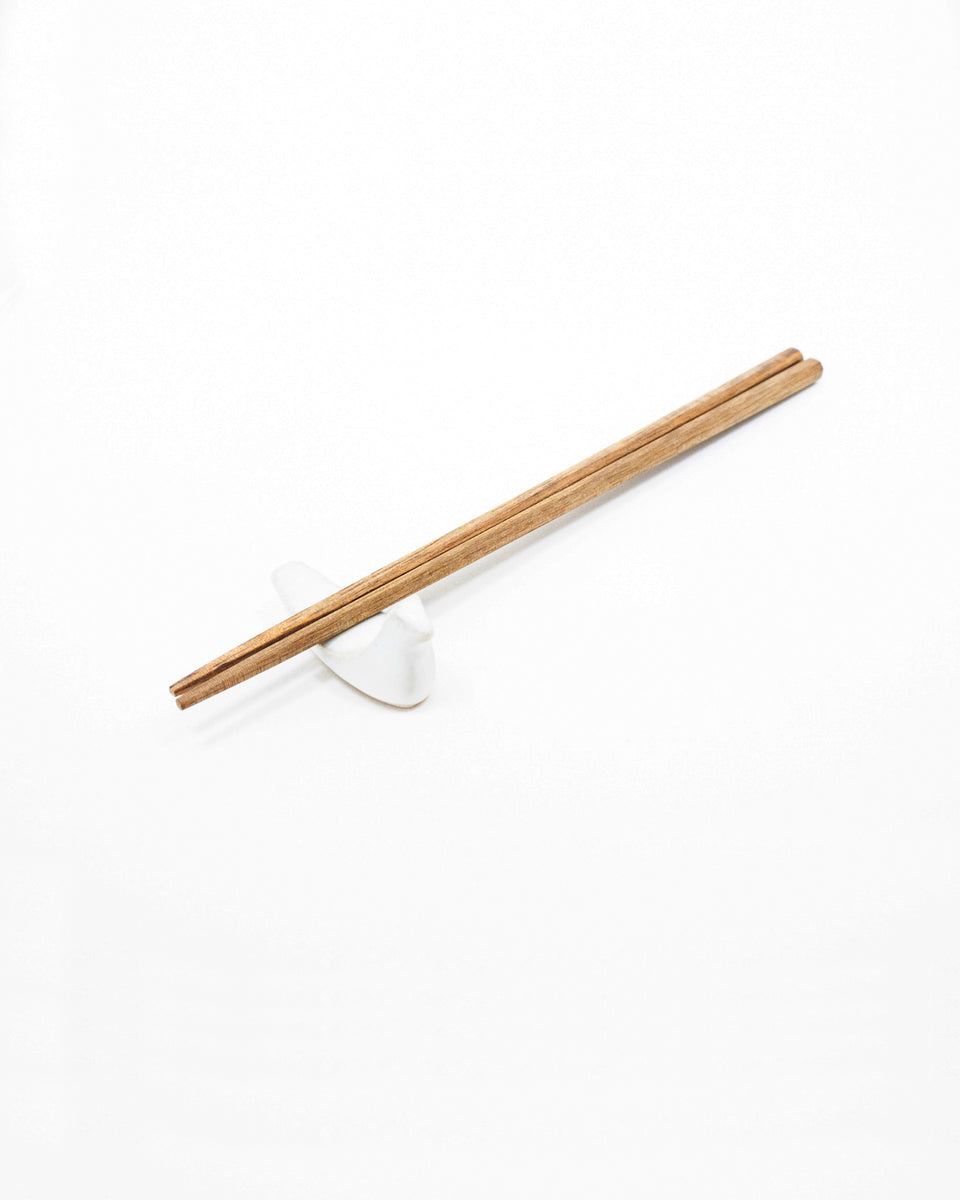 Chopstick Rest - White Bird