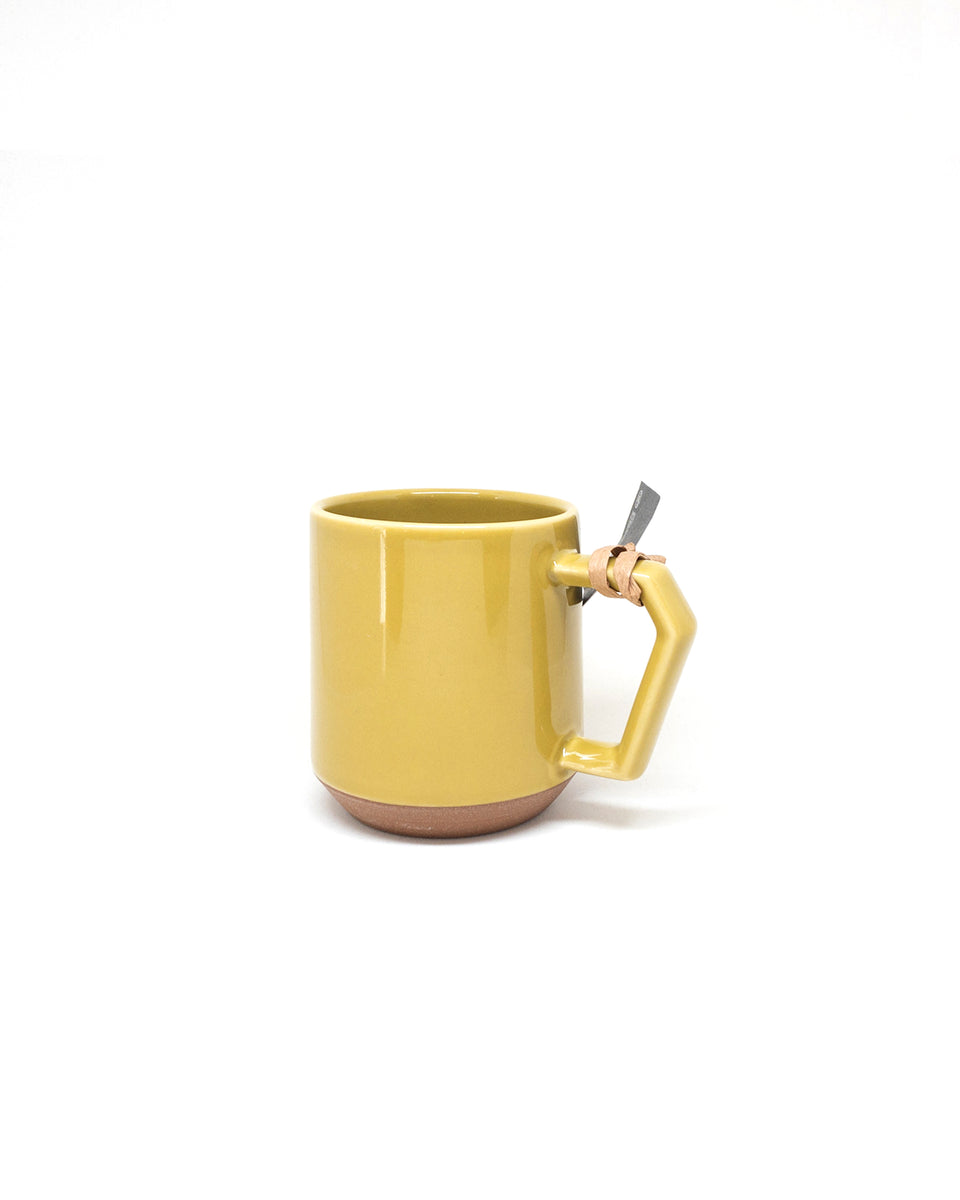 Chips Japan: Mug 380ml - Gloss Mustard