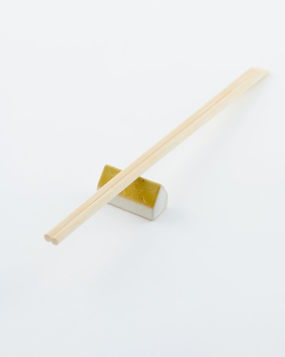 Blut's Yellow Chopstick Rest