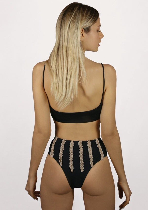 NEW Leni black & nude //  high-waist