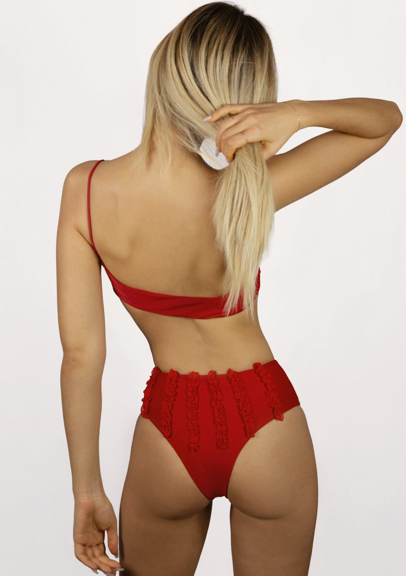 LENI Red // Bikini // High waist