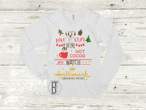 Baking, Hot Cocoa & Hallmark Christmas Movies | Long Sleeve