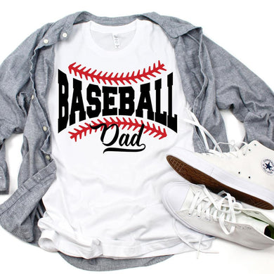 Baseball Dad - White