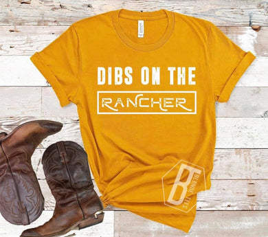 Dibs on the Rancher - Mustard