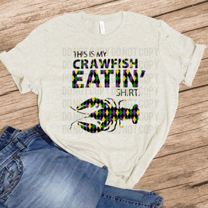 This Is My Crawfish Eatin' Shirt - Oatmeal