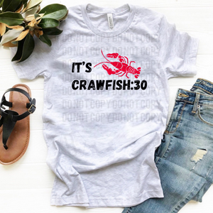 It's Crawfish:30 - Ash Gray