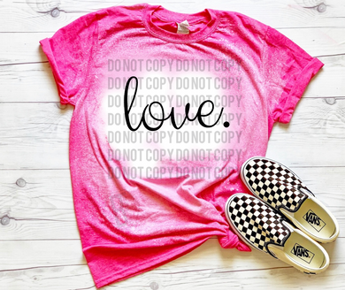 Love. - Acid Wash Pink