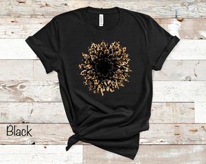 Cheetah Sunflower - Black