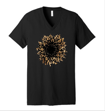 Load image into Gallery viewer, Cheetah Sunflower - Black