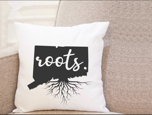 State Roots - Connecticut - Pillow