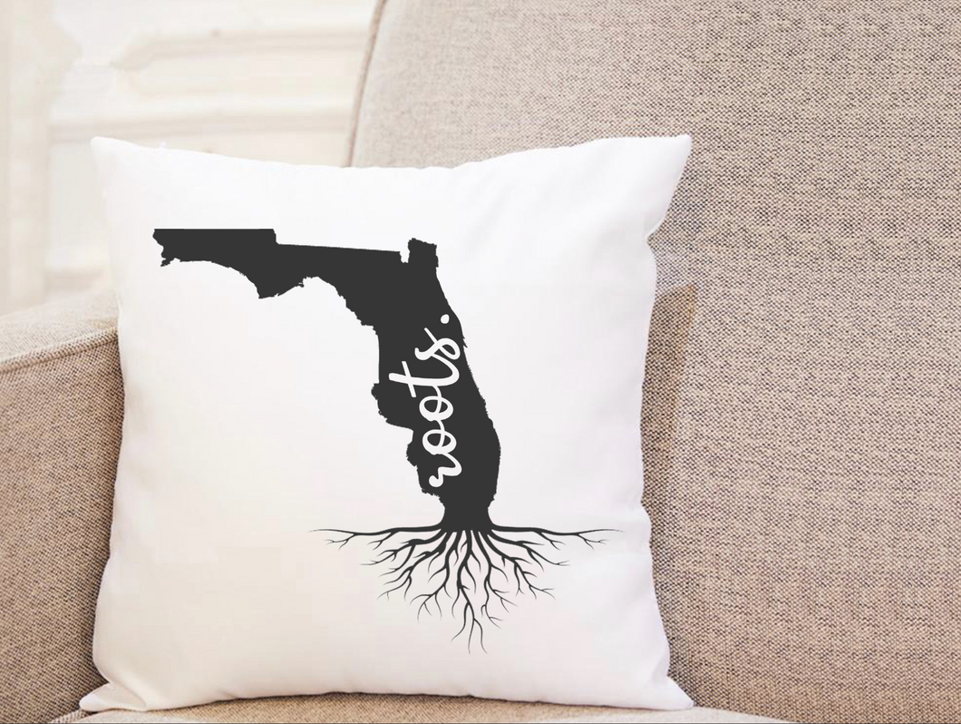 State Roots - Florida - Pillow