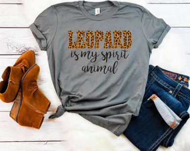Leopard is my Spirit Animal
