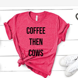 Coffee Then Cows - Raspberry