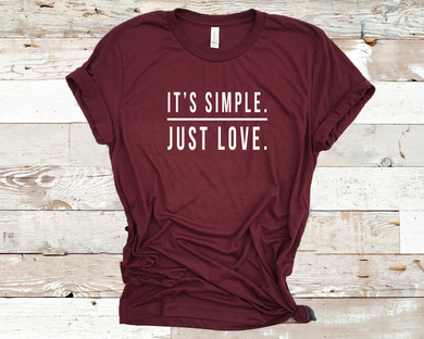 It's Simple Just Love - Maroon