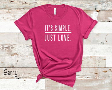 It's Simple Just Love - Berry