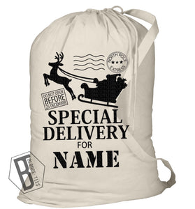 Santa Sack - Personalized