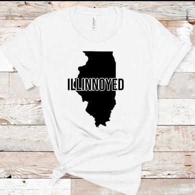 Illinoyed w/ State - White
