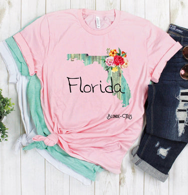 Florida - Light Pink