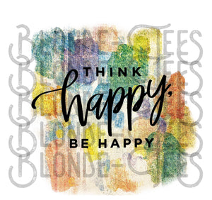 Digital Download - Think Happy Be Happy