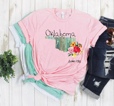 Oklahoma - Light Pink