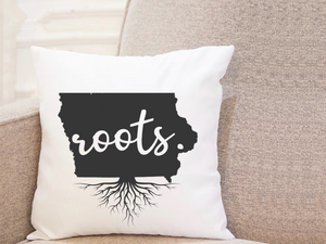 State Roots - Iowa - Pillow