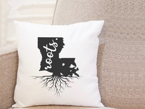 State Roots - Louisiana - Pillow