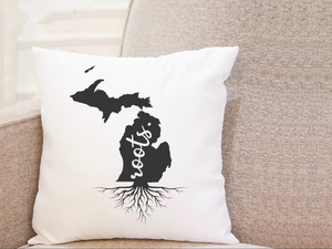 State Roots - Michigan - Pillow